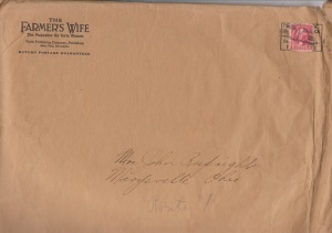 Farmers Wife Mailing Envelope